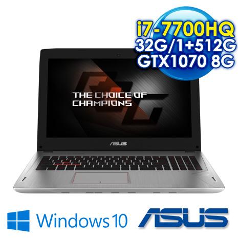 ★瘋狂下殺★ ASUS ROG GL502VS-0111E7700HQ 潮速電競筆電 i7-7700HQ/16G DDR4*2/1TB+516G SSD/GTX1070 8G GDDR5 VRAM /..