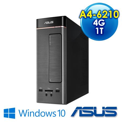 【瘋狂特殺】ASUS K20DA-0061A621UMT AMD A4-6210/4G-DDR3/1TB/DRW/Win10