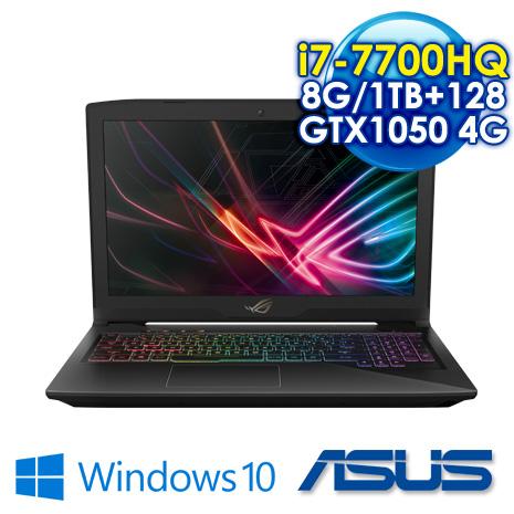 ★最高現折一千★ ASUS ROG GL503VD-0031B7700HQ 電競筆電 i7-7700HQ/8G DDR4/1TB+128G SSD/GTX1050 4G GDDR5 VRAM /15.6吋FHD/W10