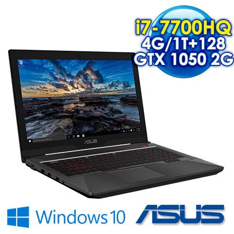 ASUS FX503VD-0052C7700HQ 15.6吋 電競筆電 (i7-7700HQ/4GB DDR4 2400(Max 32GB)/1TB+128G SSD/GTX 1050 2G/W10)