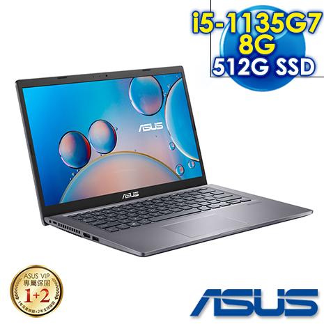 【預購】ASUS華碩 X415EA-0131G1135G7 星空灰   14吋筆電 (i5-1135G7/8G/512G PCIe/W10/FHD)