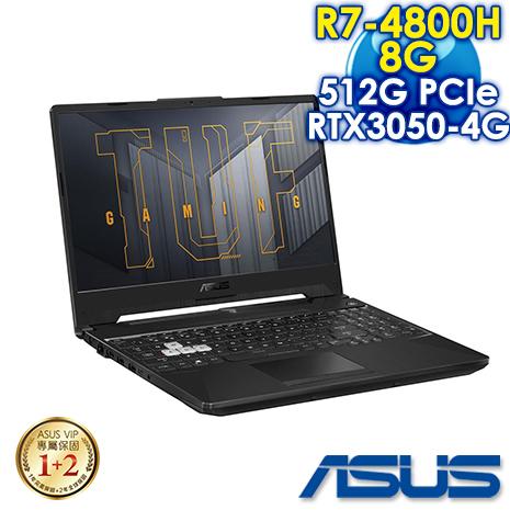 【安心三重送】ASUS FA506IC-0032A4800H 幻影灰(AMD R7-4800H/8G/RTX3050-4G/512G PCIe/W10/FHD/144Hz/15.6)