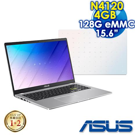 ASUS E510MA-0361WN4120 夢幻白 (Celeron N4120/4G/128G/Windows 10 Home S/FHD/15.6)