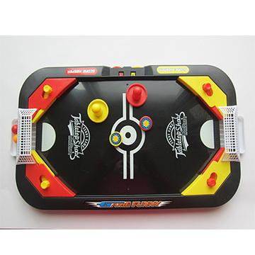雙人曲棍球足球兩用遊戲機台 (一盒)