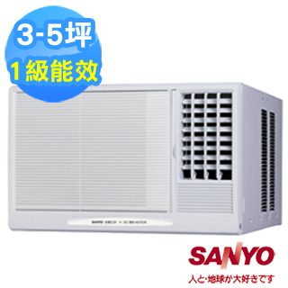 【SANYO三洋】3-5坪右吹式窗型冷氣(SA-R281B/SA-R28B)