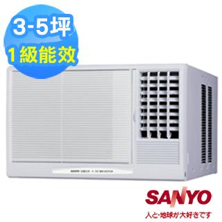 【SANYO三洋】3-5坪右吹式窗型冷氣(SA-R281B/SA-R28B)-家電.影音-myfone購物