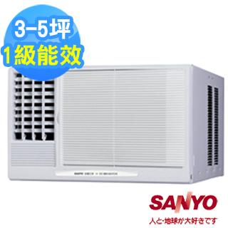 【SANYO三洋】3-5坪左吹式窗型冷氣(SA-L281B/SA-L28B)
