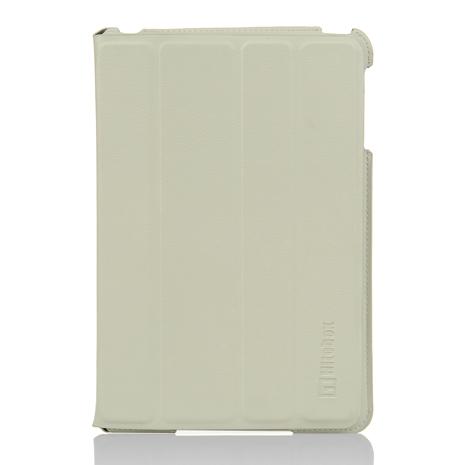 Hitobox SlimFolio iPad mini/mini 2/mini Retina 輕薄站立皮套(灰白)