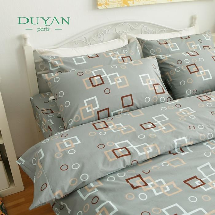 特賣 DUYAN《氣泡香檳》單人二件式100%純棉床包組