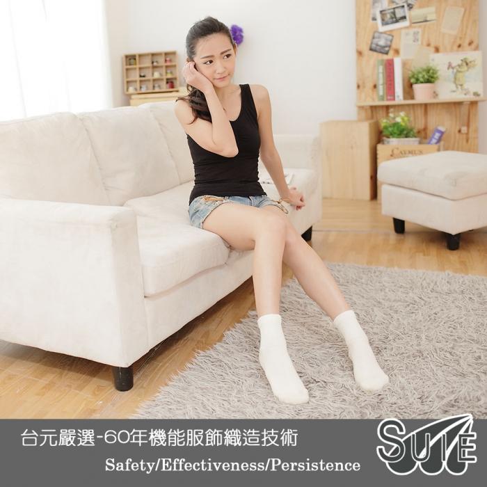 【台元嚴選】SUIE遠紅外線健康襪 (3雙入)遠紅外線健康長襪*3雙