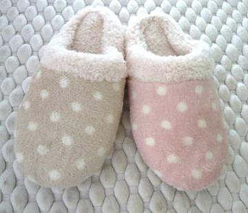 (e鞋院)【雪糕點點 】舒適室內拖鞋