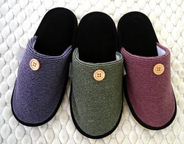 (e鞋院)[日光暖暖]麂皮底舒適室內拖 (任選2雙398元)