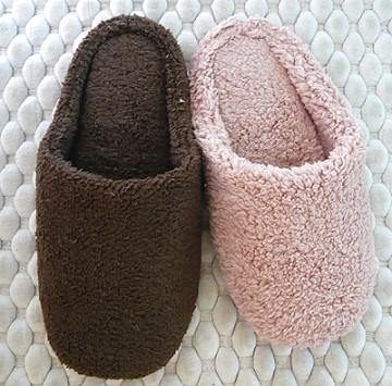 (e鞋院) *前包暖暖*珊瑚絨毛室內拖鞋