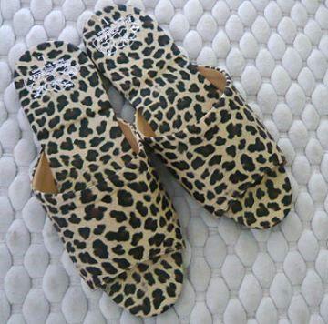 (e鞋院)[迷漾豹紋]舒適室內拖鞋