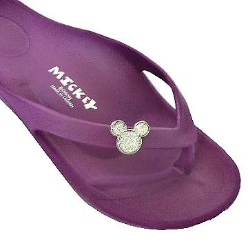 (e鞋院)米奇輕量夾腳拖鞋 ~紫~