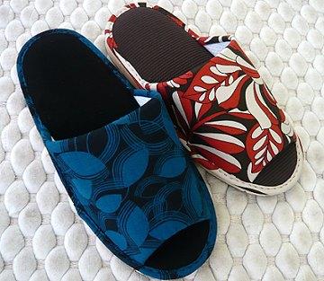 (e鞋院)[秋風紛飛]舒適室內拖鞋紅色