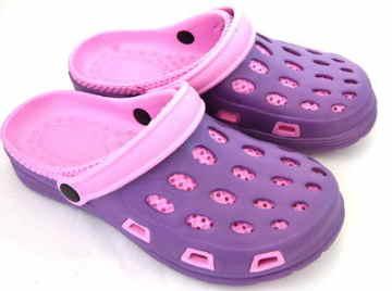 (e鞋院)園丁鞋/布希鞋-女(紫粉)