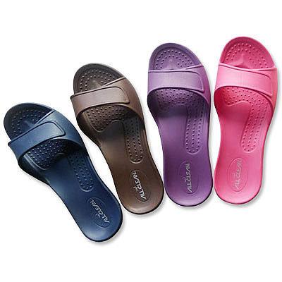 (e鞋院)All Clean 環保室內拖鞋 (4雙入)桃25*2紫25*2