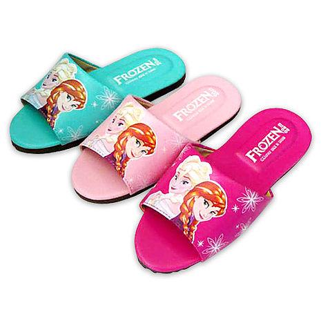 (e鞋院)迪士尼冰雪奇緣-艾莎與安娜室內拖鞋 ~親子拖~(任選2雙)