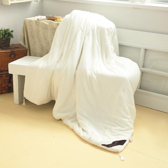 【FOCA頂級御用】100%天然手工長纖蠶絲被 (加碼贈PB法蘭絨毯)-APP