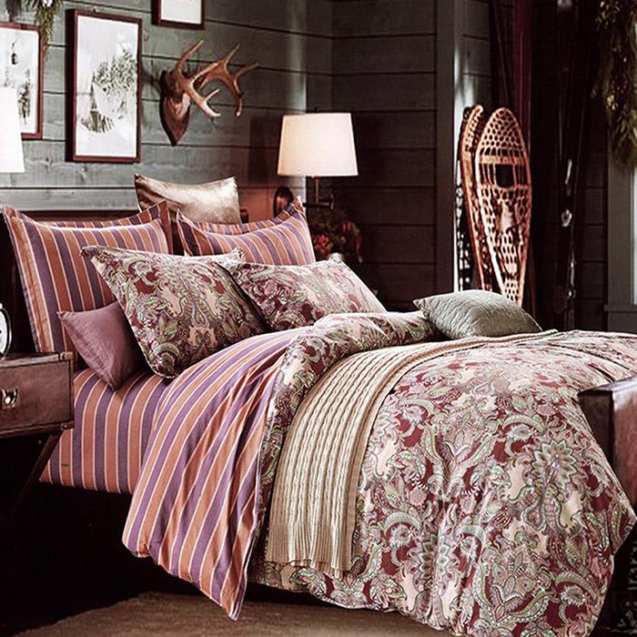 特賣-【FOCA-莫霓思】單人精梳純棉三件式兩用被床包組(贈同尺寸保潔墊X1)