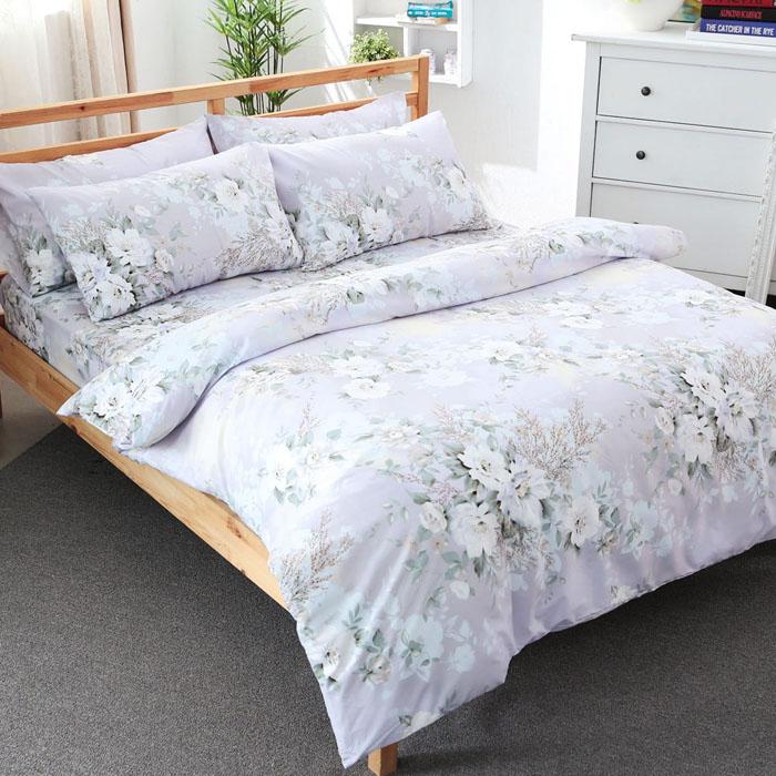 特賣-【FOCA】雙人-活性印染雪絨棉四件式被套床包組(傾心)-居家日用.傢俱寢具-myfone購物