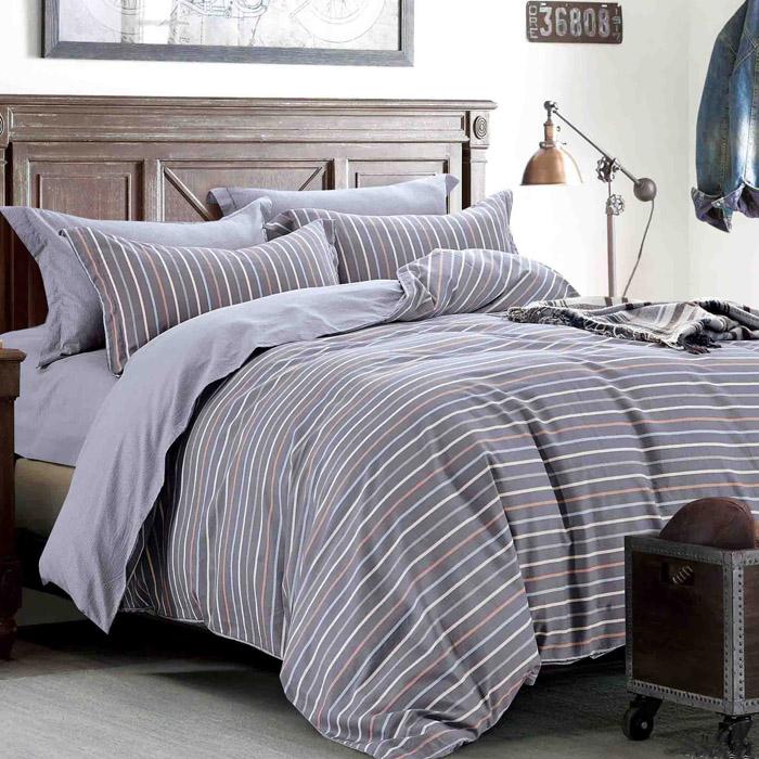 特賣-【FOCA-致青春】單人精梳純棉兩用被床包組(贈同尺寸保潔墊)