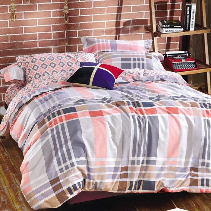 特賣-【FOCA-米蘭生活】單人精梳純棉兩用被床包組(贈同尺寸保潔墊)