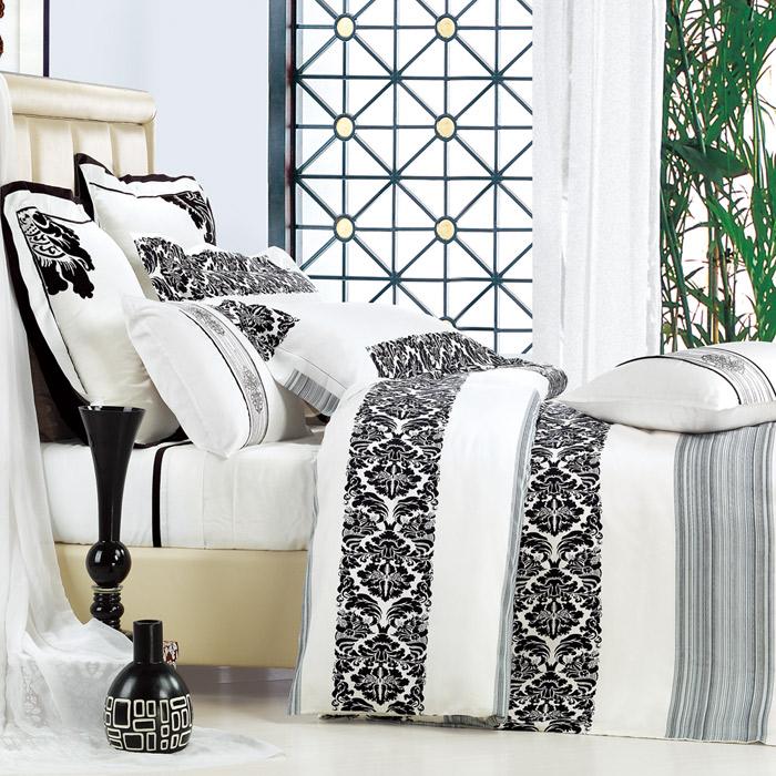 特賣-【Betrise格律】雙人-頂級300支紗100%天絲TENCEL四件式兩用被床包組