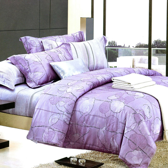 特賣-【Betrise晨曦佳人】特大-頂級300支紗100%長絨棉四件式兩用被床包組(8x7被套)