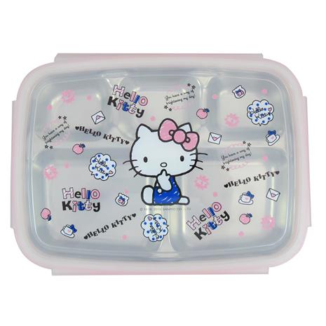 Hello Kitty不鏽鋼隔熱餐盒-手繪KS-8150