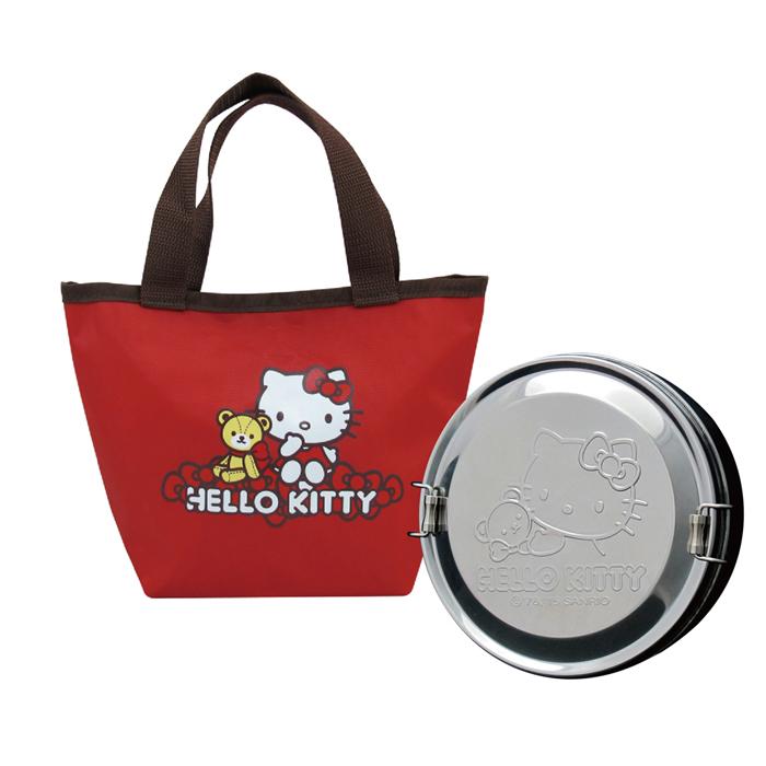 【特賣】Hello Kitty不鏽鋼便當盒KS-8125