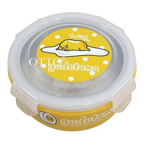【OTTO 】蛋黃哥不鏽鋼環保碗-趴姿