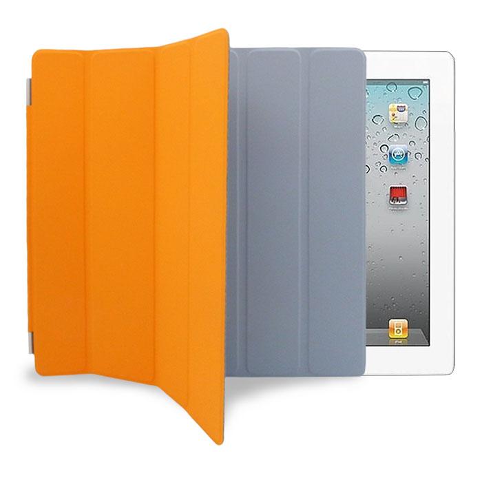 APPLE原廠 iPad2 Smart Cover 立架式側翻平板皮套
