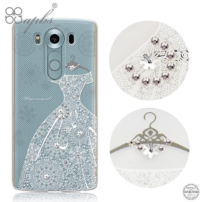 apbs LG V10 施華洛世奇彩鑽手機殼-禮服