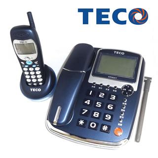 TECO【東元】無線親子電話XYFXC01T深藍