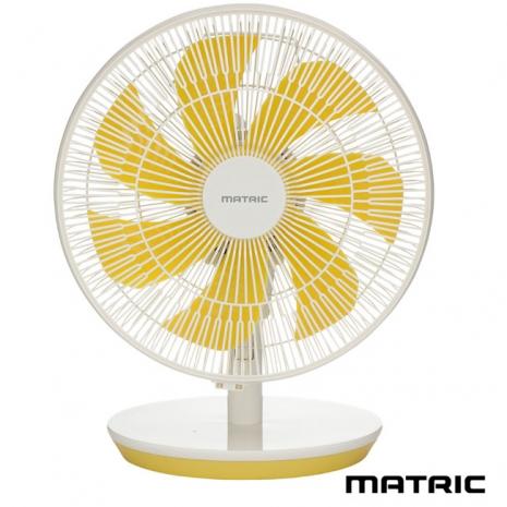 【日本松木】Macaron 12吋馬卡龍黃DC桌扇(MG-DF1202Y)