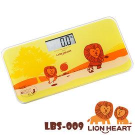 獅子心Lion-電子體重計LBS-009