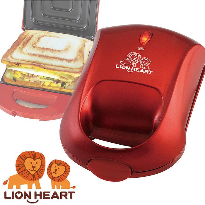 【獅子心 LION HEART】獅子心單片型三明治機LST-135
