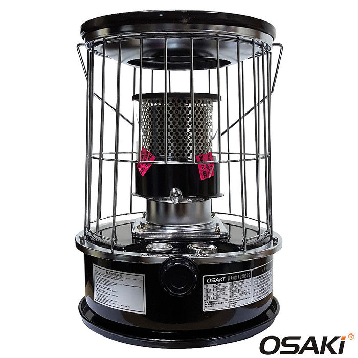 【OSAKI】第二代黑金剛鈦合金煤油暖爐 OS-88