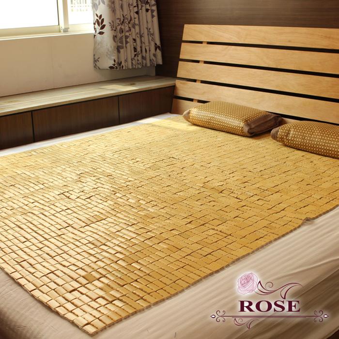 【ROSE】密編A級竹片麻將蓆-雙人
