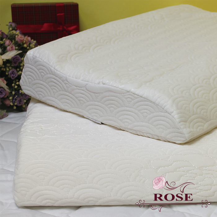 【ROSE】天然乳膠護肩型枕2入