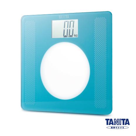 日本TANITA大螢幕超薄電子體重計HD-381-綠