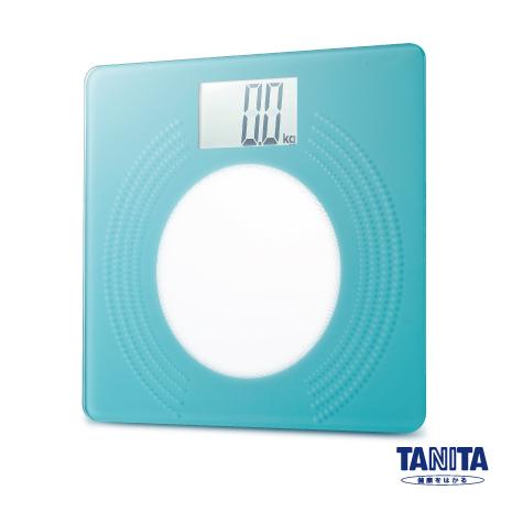 日本TANITA大螢幕超薄電子體重計HD-381-粉綠