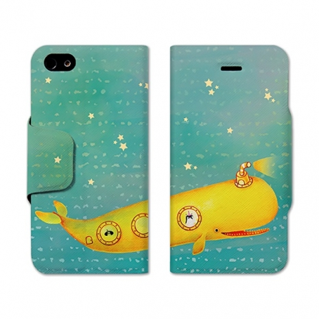 【Fandora Shop】(活動) We all live in a yellow submarine iPhone 5/5S 皮套 預購