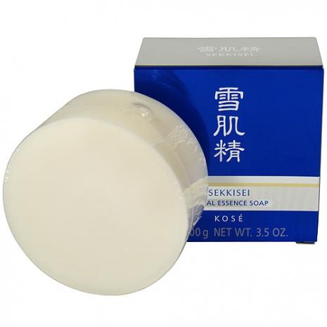 KOSE高絲 雪肌精晶透潤白潔顏皂(100g)