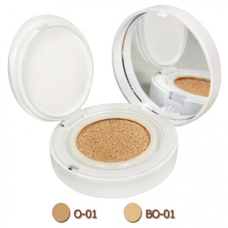 LANCOME蘭蔻 激光煥白氣墊粉餅SPF23/PA++(14g)+盒[2色]O-01