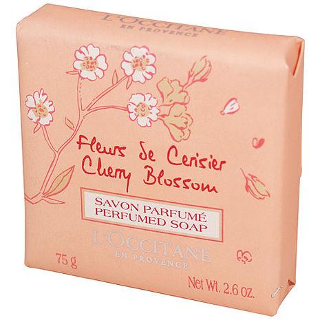L'OCCITANE歐舒丹 櫻花香氛皂(75g)-美妝‧保養‧香氛‧精品-myfone購物