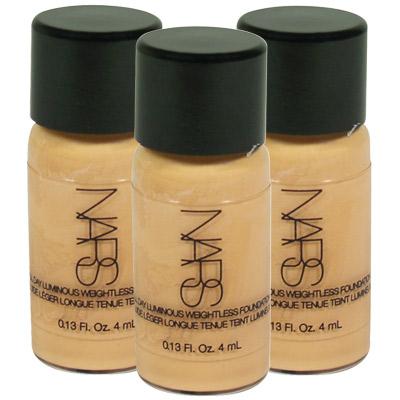 NARS 裸光奇肌粉底液(4ml)*3-LIGHT2 MONT BLANC 6432S-美妝‧保養‧香氛‧精品-myfone購物