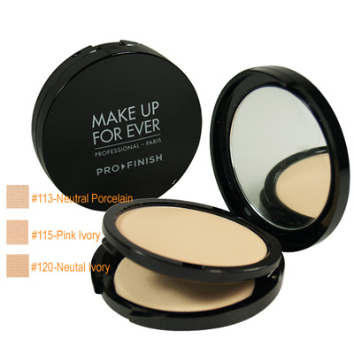 MAKE UP FOR EVER 專業美肌粉餅(10g)[3色]#120-Neutal Ivory
